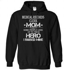 Medical Records Clerk Mom-vrhpdmgbme - #blue shirt #sweater skirt. I WANT THIS => https://www.sunfrog.com/Automotive/Medical-Records-Clerk-Mom-vrhpdmgbme-Black-34970238-Hoodie.html?68278