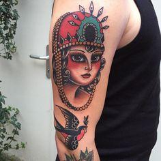 Tattoo Artist: Kim-Anh Nguyen - Seven Seas Tattoo, Netherlands www.tatteo.com