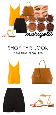 """Marigold;contest entry 2"" by bryannaurton on Polyvore featuring Topshop, Fendi, Oscar de la Renta, contest and marigold Marigold, Fendi, Topshop, Polyvore, Stuff To Buy, Shopping, Collection, Design, Women"