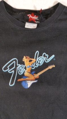 e183d5c7a92 FENDER STRATOCASTER RETRO PIN-UP STYLE T-SHIRT