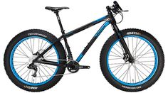 Salsa Beargrease Fat Tire Bike - $2,998.95 - Fat tire bikes have exploded in popularity, even inspiring competition. From groomed snowmobile tracks, to Alaskan endurance epics, to bonfire illuminated, beer-fueled short tracks, the fat bike has become a highly capable vessel for both exploration and racing alike. And for those who prefer to ride a light and nimble frame over a stout mule, Salsa has you covered with the new Beargrease.    It is built with an Xtrolite tubeset with…