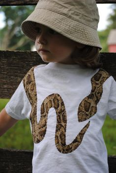 Snake-skin print snake toddler t shirt Zoo Birthday, Boy Birthday Parties, Harrison Ford, Snake Skin, Rock N Folk, Snake Party, Reptile Party, Kids Outfits, Cool Outfits