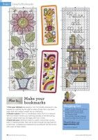 ru / Фото - The World of Cross Stitching 266 - tymannost Cross Stitch Bookmarks, Cross Stitch Flowers, Cross Stitching, Book Lovers, Needlepoint, Vintage World Maps, Gallery Wall, Crochet, Book Marks