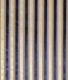 Robert Allen Stylish Stitch Porcelain Blue Fabric