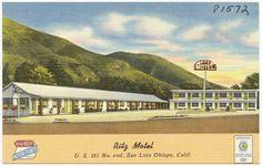 San Luis Obispo County, Boston Public Library, Motel, 2 In, California, Mansions, House Styles, Outdoor Decor, The California