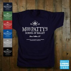 Miss Patty's School of Ballet Gilmore Girls by JennysSweetTees