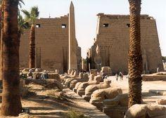 Luxor in winter, Egypt