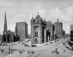 shelton square, Buffalo, circa 1900-1920.