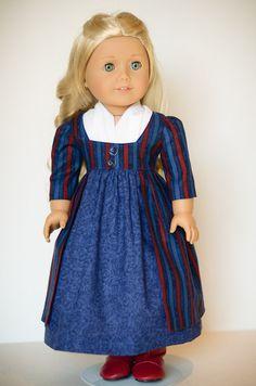 Caroline's Battle Dress - American Girl via Etsy. by AnnasGirls.
