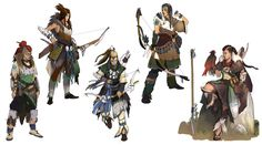 View an image titled 'Nora Female Hunters Art' in our Horizon Zero Dawn art gallery featuring official character designs, concept art, and promo pictures. Game Character Design, Character Creation, Character Concept, Character Art, Concept Art, Character Portraits, Horizon Zero Dawn, Style Tribal, Arte Cyberpunk