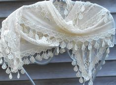 Festival Shawl,Veil,Lace  Infinity Scarf,Lace Shawl,ivory Lace Scarf,Mother Of the Bride,Fashion Scarf,Wedding Shawl, Lace Lingerie