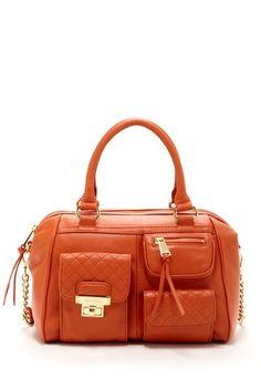 Calvin Klein Bedford Leather Satchel Bag by Calvin Klein Handbags on @HauteLook