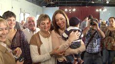 María Eugenia Vidal visitó los partidos de Adolfo Alsina, Pellegrini y S...