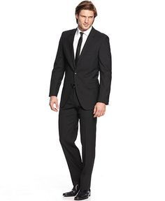 Hugo Boss Suit (Black) @ Century 21 Wall Street/Midtown OR Flasgship store on Colombus Circle
