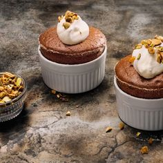 Don't be scared of soufflé! Make the base super flavorful and moist by stirring in a jam or jelly, then help it rise with a properly whipped Italian meringue. Whip the eggs until just medium firm so they have more room to expand in the oven and help the soufflé rise.
