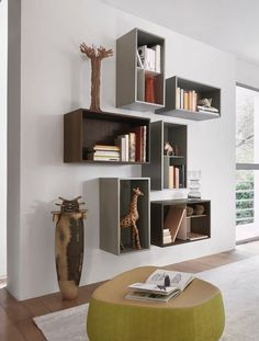 Design Wand Box Bücherregal Source by The post Design Wand Box Bücherregal appeared first on Design. Wall Unit, Wall Storage, Italian Furniture Brands, Wall Design, Luxury Furniture Stores, Italian Furniture, Wall Boxes, Bookshelf Decor, Modern Storage