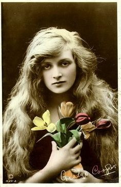 """This stunning creature grew up to play Henry Higgins' hilarious mother in """"My Fair Lady.""""  Awesome!"""