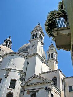 Santa Maria della Salute by Baldassare Longhena to commenorate the end of 1630 plague in Venice.