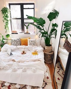 Rustic Bedroom Ideas - If you intend to go to rest in rustic chic after that this post is ideal for you. We've collected a lot of rustic bedroom design ideas you could make use of. Boho Bedroom Decor, Home Bedroom, Bedroom Ideas, Bedroom Designs, Modern Bedroom, Bedroom Inspiration, Room Interior, Interior Design Living Room, Tropical Bedrooms
