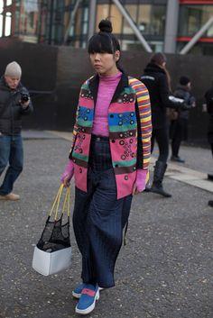 Blogger Susue Lau. Photo: Emily Malan/Fashionista