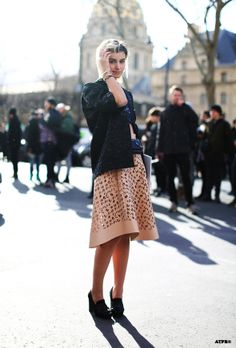 Anne Catherine Frey at Paris Fashion Week F/W 2014-15