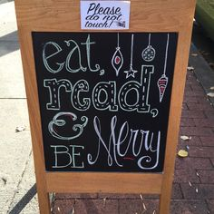 Bookstore chalkboard bookstore chalkboards and window displa Library Book Displays, Library Signs, Library Bulletin Boards, Bulletin Board Display, Reading Quotes, Book Quotes, Stampin Up, Shopping Quotes, Little Free Libraries