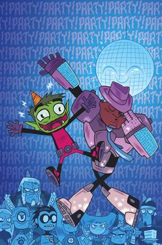 TEEN TITANS GO! #3 Written by AMY WOLFRAM and RICARDO SANCHEZ Art by JORGE CORONA and BEN BATES Cover by DAN HIPP