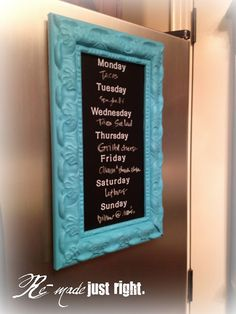 Menu Board Tutorial. Great how-to guide. Seems simple. Might reduce take out.