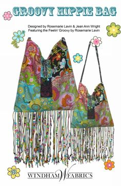 Groovy Hippie Bag by