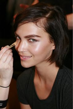 Simple-Kind-of-Life: Make-up Story - Arizona Muse