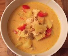 Rezept gelbes Thai Curry von Glase Hase - Rezept der Kategorie Hauptgerichte mit Fleisch