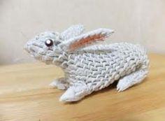 3D Origami Balls   ... 3d origami bunny – make 3d origami rabbit – 3d origami bunny ball