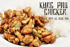 Kung Pao chicken from China.  Easy and yummy.  Add more veggies to make it even healthier.