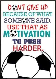 #soccermotivation