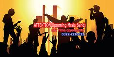#Lahore #event2016 #LTD #lahorethedefenders Music Bands Festival 2016 May food festival invite Musical bands for performance in the food festival #Lahore. Its a life time opportunity for upcoming bands. Interested Music bands should registered themselves for live performance by 20th April 2016. Date:  7th to 8th MAY 2016  Timings:  3:00 PM to 10:00 PM Phone number: 0322-2220022 Address:  Chalet Banquet Hall's, 6L Gullberg 3 lahore, Lahore, Pakistan