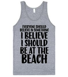 Should Be At The Beach