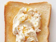 トースト(クリームチーズ+マーマレード )