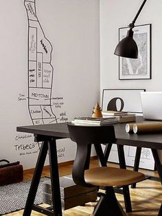 Interior crisp: Decorating ideas: Writing on the wall