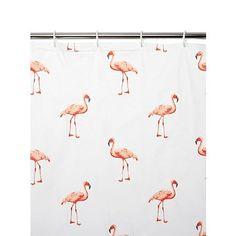 Deluxe Pink Flamingo PEVA Plastic Water Resistant Shower Curtain (180cm x 180cm) includes 12 metal curtain Rings Verdi http://www.amazon.co.uk/dp/B017GC2BZQ/ref=cm_sw_r_pi_dp_wmLnwb1BE7H01