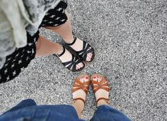 lovely sandals...A classic waterproof sandal. Flexible, lightweight sole completes the go-anywhere style. I had to get both black and Tan.