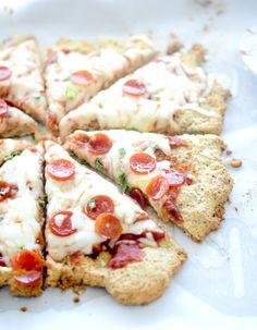 Low Carb Almond Flour Pizza Crust – Recipe Diaries