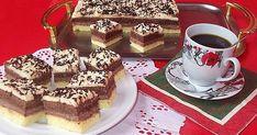Prăjitură cu două blaturi si două creme Tiramisu, Sweets, Ethnic Recipes, Cakes, Ideas, Sweet Treats, Deserts, Sweet Pastries, Goodies