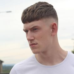 alan_beak/Hair ✂✂ в Instagram: «SHORT SHORT for summer daze!! Blunt cropping 1 off for Ben... Hair blown forward with plenty of matte VOL 1 Ms when in place the fringe has been has been jabbed straight with my @andisclippers liners!! #rugerbarber»