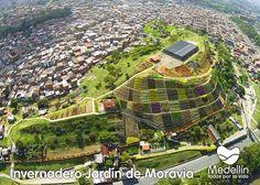 JARDINES DE MORAVIA............ANTIGUO BASURERO DE MEDELLÍN COLOMBIA HOY ES UN…