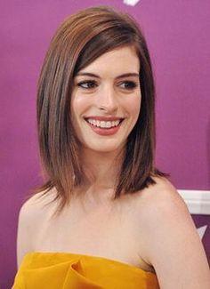 Anne Hathaway medium hair