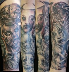 Jim Root Sleeves | Slipknot Tattoos Image Picture Picture