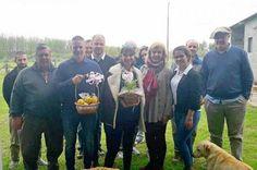Alicia Andreotti visitó a productores y vecinos isleños