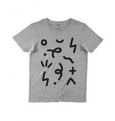 T Shirt imprimé stylé pour homme gris chiné. Création signée Aecho pour MAMAMA. A shopper sur ta boutique de teeshirts préférée, du XS au XL. Oui Monsieur.