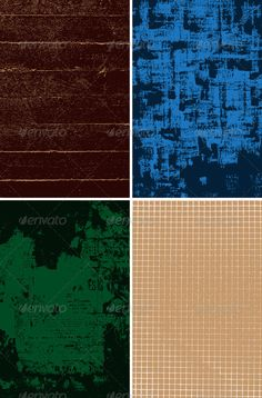 set of grungy vector backgrounds. Zip archive contains fully editablevector file in eps8 format and high resolution RGB jpeg image