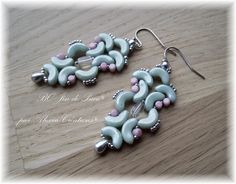 BO Jin de Puca Avec les perles Arcos® et Minos® disponibles sur http://www.generationperles.fr